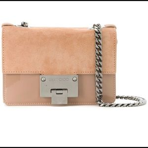 Jimmy Choo Rebel Soft Mini Ballet Pink Bag